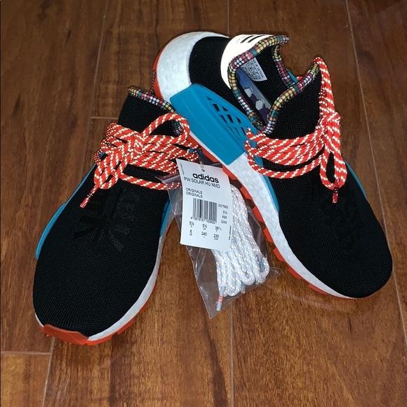 9cbd33604 Adidas Pharrell Williams Black Human Race NMD